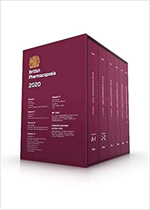 British pharmacopoeia 2020 فارماکوپه انگلستان